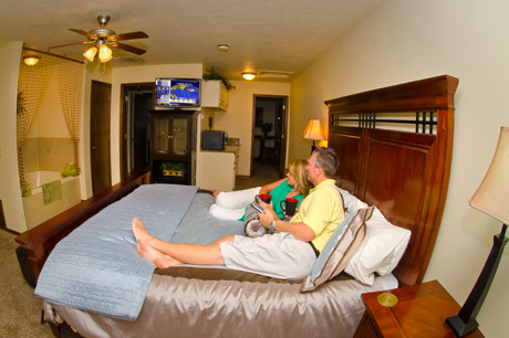 Eureka Springs lodging - The Grandview Suite